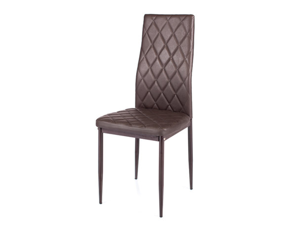 Трапезен стол - кафяв