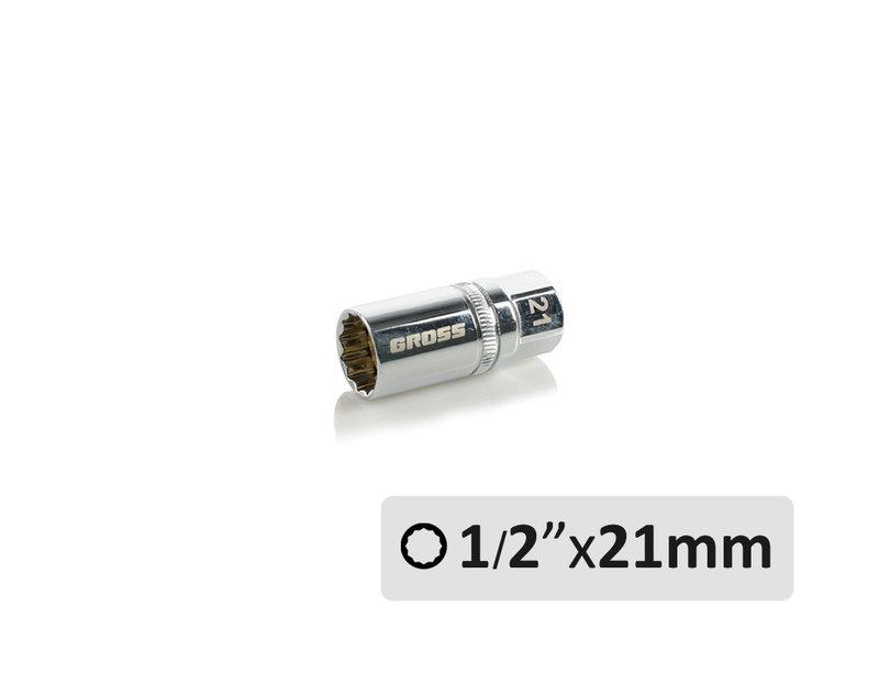 Вложка за автомобилни свещи - 21 mm