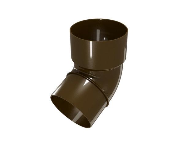 Дъга Elegance140 - кафява, 67.5°/ø100 mm