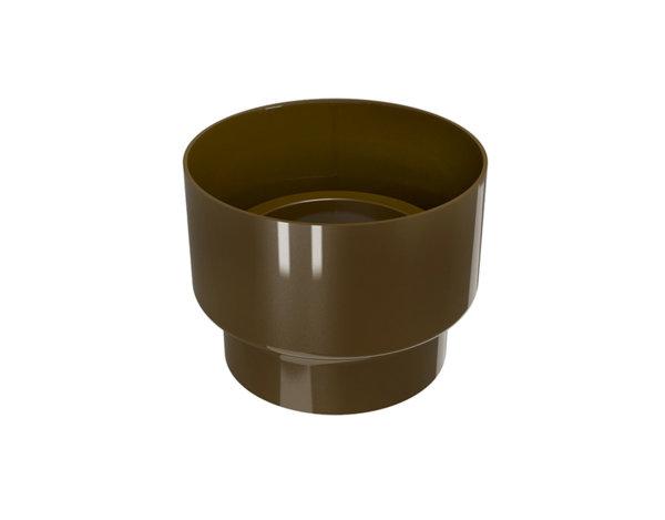 Редуцираща муфа Elegance140 - кафява, ø100 mm/ø80 mm