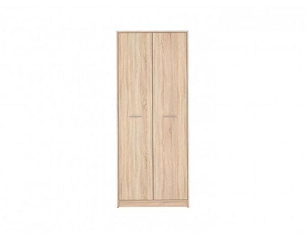 Двукрилен гардероб Nepo - дъб сонома