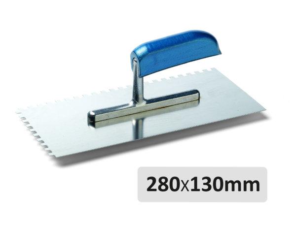 Назъбена маламашка - 280 x 130 mm