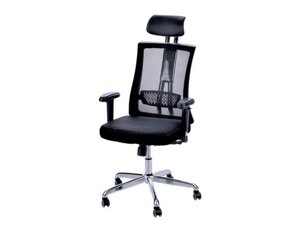 Офис стол - черен