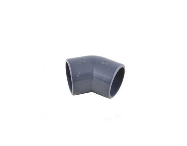 PVC коляно 45° - различни размери