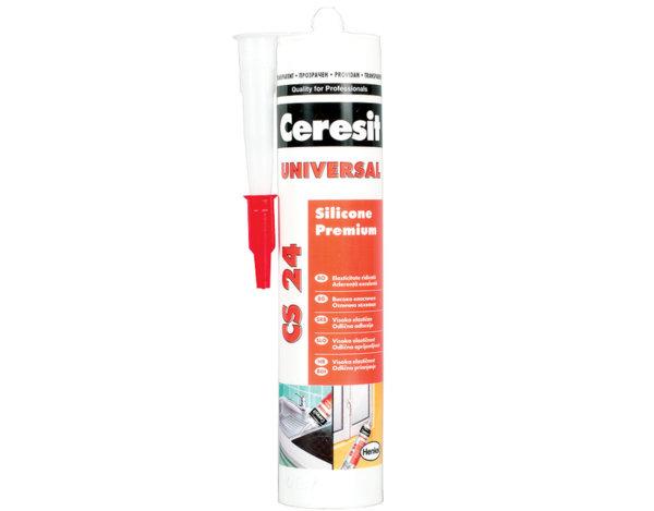Универсален силикон CS24 - прозрачен, 280 ml
