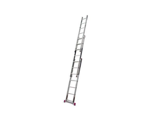 Професионална алуминиева стълба - 3 x 7