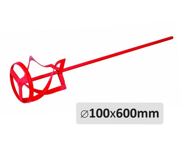 Бъркалка за боя със спирала - ø100 mm