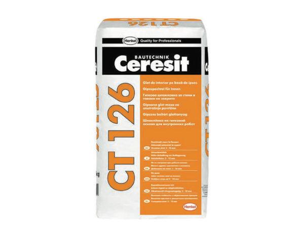 Гипсова шпакловка CT126 - 20 kg