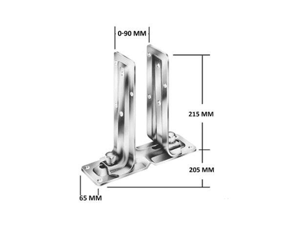 Регулируема стъпка - 0-9 mm