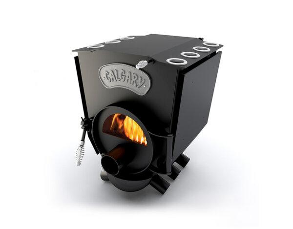 Печка на дърва Calgary Lux - със стъкло