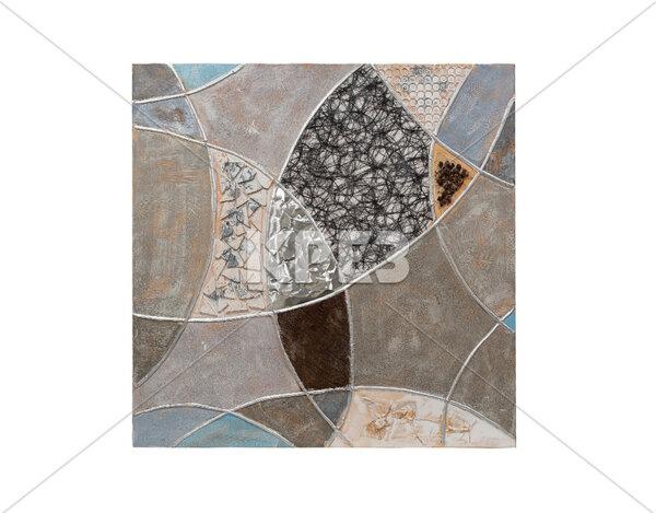 """3D картина """"Преплетени сфери"""" - 100 x 100 cm"""