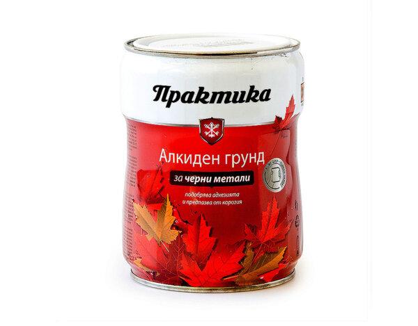 """Алкиден грунд """"Практика"""" - 650 ml, различни цветове"""