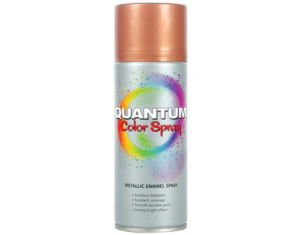 Акрилен спрей Quantum - металик, 400 ml, различни цветове