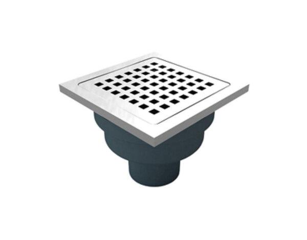Сифон с решетка и рамка -  144 х ø50 mm, различни видове