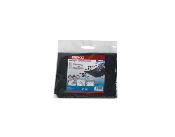 Филтър за климатик - 50 x 75 cm, черен
