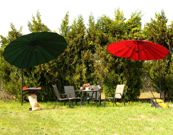 Градинска маса с четири стола