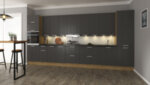 Шкаф колона Sky Loft - за хладилник, 60 х 214 х 60 cm