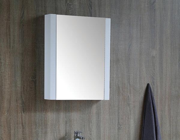 Горен шкаф за баня с огледало - 70 х 55 х 13 cm