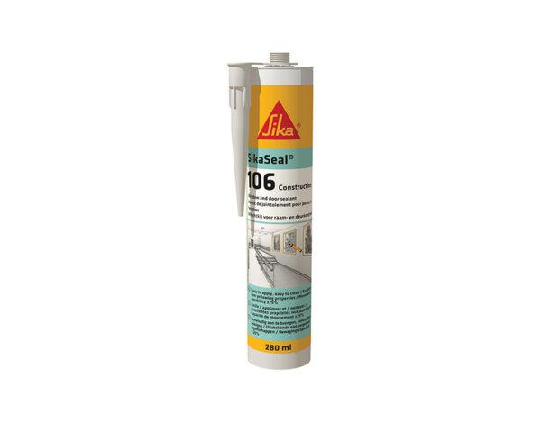 Многофункционален строителен уплътнител - 280 ml, бял