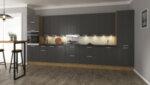 Горен шкаф Sky Loft - ъглов, 60 x 93 x 60 cm