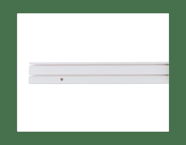 PVC корниз с двуканална релса - различни размери