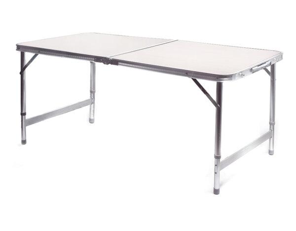 Сгъваема маса за къмпинг - 120 х 60 х 55-70 cm