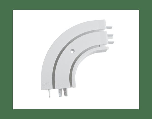 Външен ъгъл за двуканална PVC релса - 1 бр.