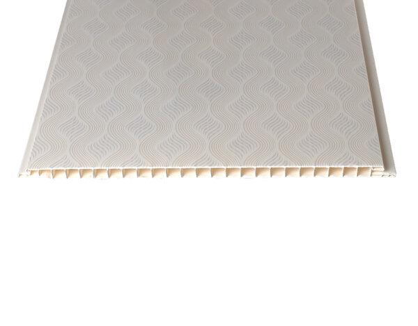 """PVC ламперия """"Поток"""" - 25 x 300 x 0.8 cm"""