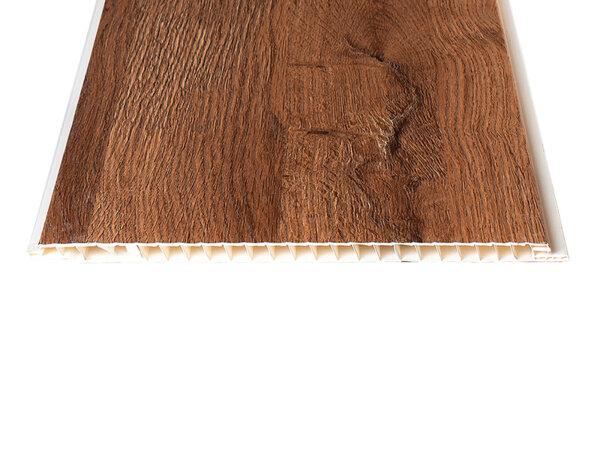 """PVC ламперия """"Тъмен Дъб - Фредвил"""" - 25 x 300 x 0.8 cm"""