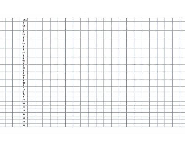 Оградна мрежа с променлив отвор - 1.5 x 25 m, ø1.9 mm