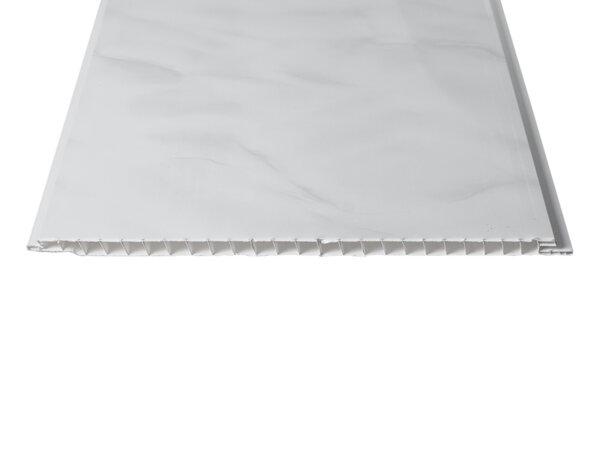 """PVC ламперия """"Мрамор сив"""" - 25 x 270 x 0.8 cm"""