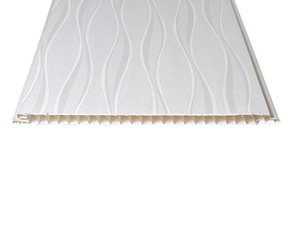 """PVC ламперия """"Ниагара"""" - 25 x 300 x 0.8 cm"""