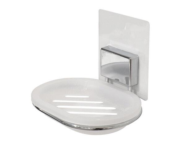 Сапунерка Magic Bath - пластмасова. 13 х 10.5 х 10.5 cm