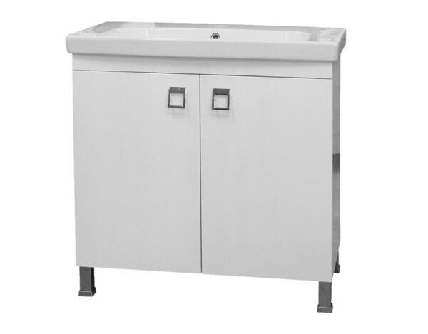 """Долен шкаф за баня """"Тринити"""" - с мивка """"Рома"""""""