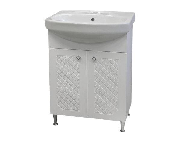 """Долен шкаф за баня """"Ангара"""" - с мивка """"Нео"""""""