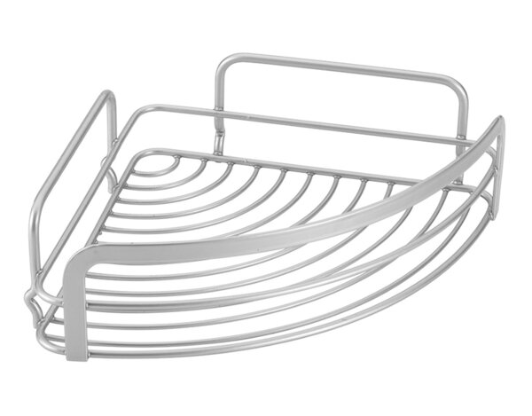 Единична ъглова етажерка Viva - овална, 20 x 20 x 6 cm