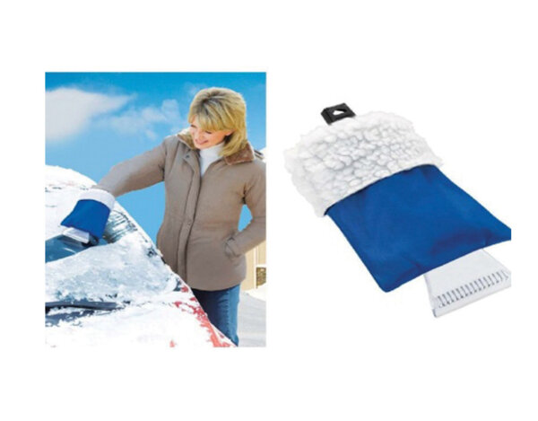 Стъргалка за лед с ръкавица