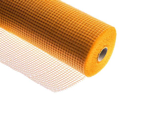 Стъклофибърна мрежа - 160 g/m², Оранжева