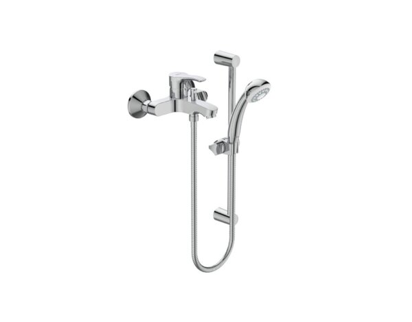 Смесител за вана и душ SevaS - с тръбно окачване