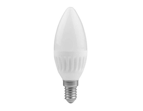 LED крушка - E14, 9 W, различна светлина