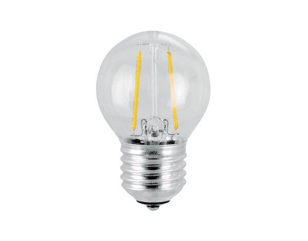 LED филамент крушка - E27, 4 W, 3000 K