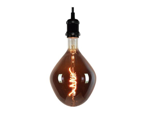 LED филамент крушка - E27, 8 W, 2200 K