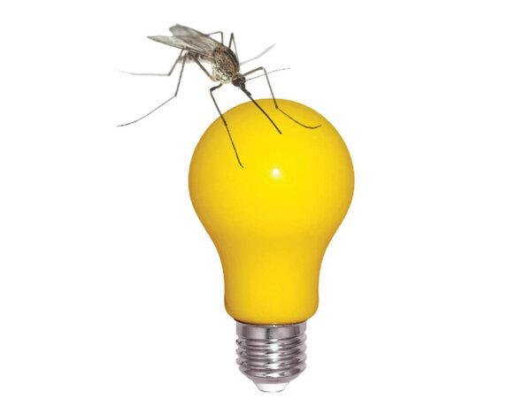 LED крушка против комари - E27, 5 W