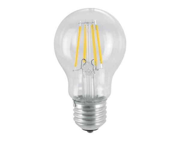 LED филамент крушка - E27, 3000 K, различна мощност