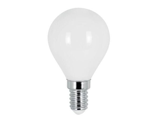 LED филамент крушка - E14, 4 W, различна светлина