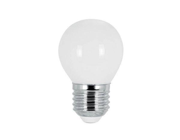 LED филамент крушка - E27, 4 W, различна светлина