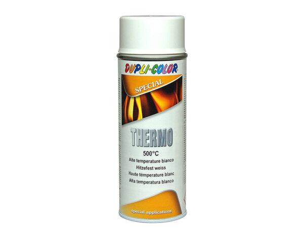 Високотемпературен спрей, до 500° - 400 ml, бял