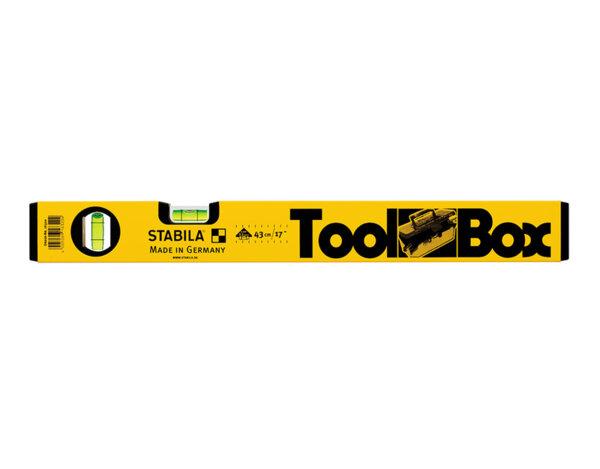 Алуминиев нивелир Toolbox - 43 cm