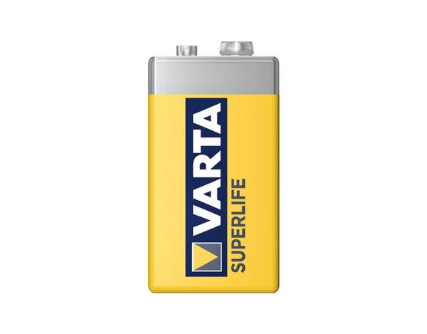 Цинкова батерия SuperLife, с фолио - 9 V, 1 бр.