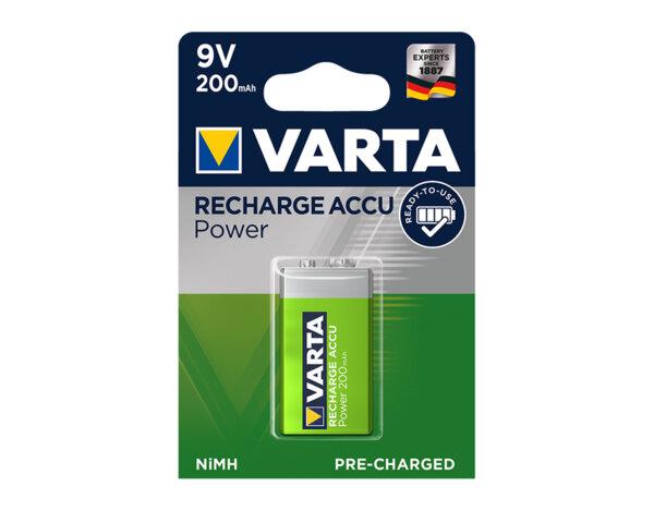 Презареждаема батерия Accu - 9 V, 200 mAh, 1 бр.